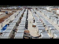"""Kilis'teki """"Küçük Suriye"""" kampında modernÖncüpınar mülteci kampından Avr..."""