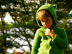 This Frog Sweater is Organically Made in Kenya for a Good Caus trendhunter.com