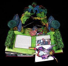 Robert Sabuda's pop-up Beauty and the Beast (2010).... Sabuda's work is amazing!!