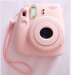 Cute baby pink Polaroid camera