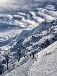Mountain road, Swiss Alps