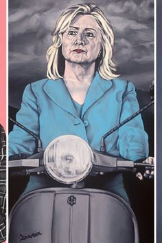 An Artist Painted Hillary Clinton Nude, And She Didn't Stop There