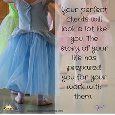 Your perfect clients will look a lot like you. http://bit.ly/1io3qKX