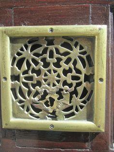 Brass door plate, Madrid