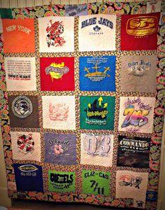 Tshirt quilt 004 | Flickr - Photo Sharing!