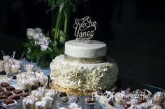 Asi se ven nuestros topper de torta para bodas! info.ainhoagoitia@gmail.com #wedding #toppers #caketop #gold