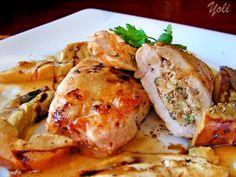 Свинско филе с орехи и пармезан