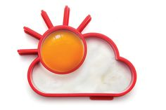 Fun, sunset shaped egg mould for your fried egg!Sunnyside is the cutest way to eat an egg! Pop the egg white into the cloud area and the yolk into the sun and there you have it! Quite literally, sunshine on a plate! This cool, dishwasher safe fried egg mould shines a light on breakfast times! Nom nom nom...Silicom13.8 x 11 x 2.4 cm