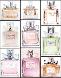 dior perfume collection miss door cherie is my favorite
