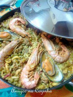 Amigos na Cozinha: Arroz à Valenciana
