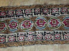 Cadouin Abbey, embroidered border, 10th c