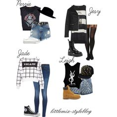"""*REQUESTED* LM Inspired for a 5SOS Concert"" by littlemix-styleblog on Polyvore"