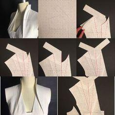 Tecniche Di Modellismo-Studio dei Cartamodelli-Confezione