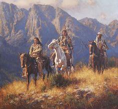 Mountain Passage by Don Oelze kK