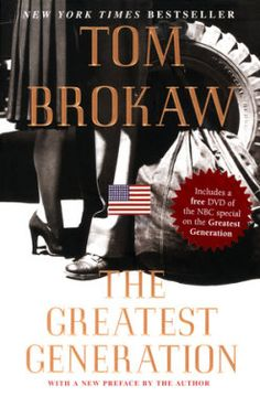 Reading this first time. Fantastic examples of patriotism, America and true values. This should be required reading in schools. Tom Brokaw - The Greatest Generation. Tom Brokaw, Daring Greatly, See World, Penguin Random House, Nonfiction Books, Great Books, The Book, Toms, Author