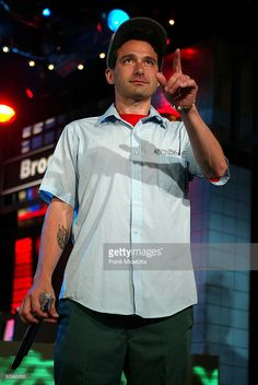 Rapper Adam Horovitz 'AdRock' of the Beastie Boys appears on a live taping of MTV's 'Live to the 5 Boroughs' in support of their new CD 'To The 5 Boroughs' at the MTV Times Square Studio in New York City.