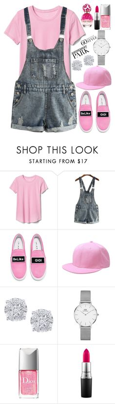 """Amusement Park"" by deedee-pekarik ❤ liked on Polyvore featuring Gap, Joshua's, Effy Jewelry, Daniel Wellington, Christian Dior, MAC Cosmetics, Marc Jacobs, amusementpark and 60secondstyle"