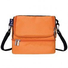 Kids Lunch Box & Bags: Bengal Orange Double Decker Lunch Bag