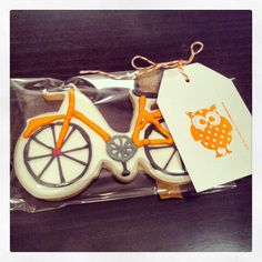 Bicycle cookies. Muacs Barcelona