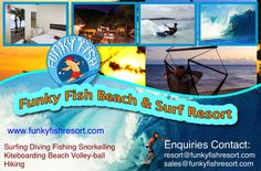 With great reviews from Trip Advisor and guests, Funky Fish Beach Resort is the place to be if you are looking for a holiday with lots of surfing, relaxing and enjoying the friendly Fijian hospitality provided by the staff. See deal 'Surfer's Dream Deal'.