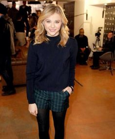 Chloe Grace Moretz Beautiful Hairstyles