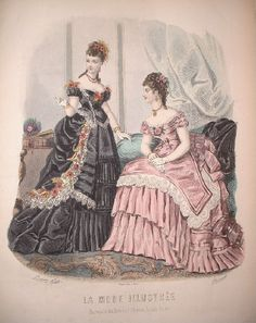 1870's fashion plate via Elensari