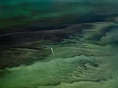 Oil Spill #16, Mississippi Delta, Gulf of Mexico, June 24 | From a unique collection of landscape photography at https://www.1stdibs.com/art/photography/landscape-photography/