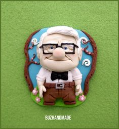 Carl Friediksen UP - Clay fanart by buzhandmade.deviantart.com on @deviantART