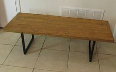 Custom coffee table $200.00, via Etsy.