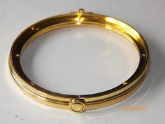 """ROUND Jewellery box hinges 100mm Fan Flower """"Gold & Silver"""" – George's Bits of Timber"""