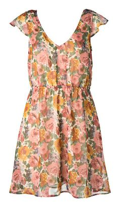 Dress Flower Prints, Floral Tops, Outfits, Dresses, Women, Fashion, Vestidos, Moda, Floral Patterns