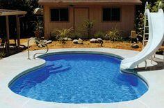 Small but fun.  Fiberglass Inground Swimming Pools   Liberty Composite Pools - Fiberglass inground swimming pools