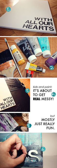 what the kids made dad... | HEART AND HABIT