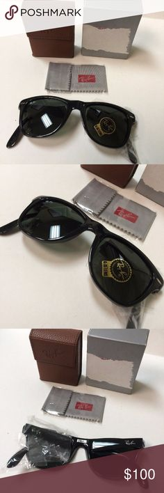0a9919c4de ... sweden ray ban rb4105 folding wayfarer black sunglasses up for sale is  a brand new pair