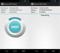 WiFi Shoot!, comparte contenidos entre dispositivos Android a traves de la Wi-Fi