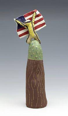 ImPeach Tree Ceramic Artists, My Images, Pottery, Clay, Sculpture, Ceramics, Outdoor Decor, Artwork, Ceramica
