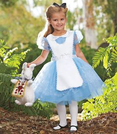 I'm pretty sure this will be Sophie's costume this year  alice in wonderland child costume - Chasing Fireflies