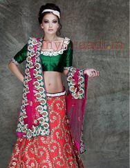 Indian Bridal Wear by Asha & Gautam Gupta | MyShaadi.in