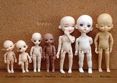 Tinies comparison [Explored] | Realpuki normal skin, Lati Wh… | Flickr