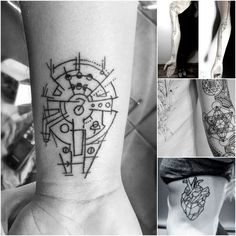 Geometrical Timeless Tattoos