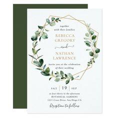 Gold Invitations, Elegant Wedding Invitations, Wedding Invitation Cards, Wedding Stationery, Custom Invitations, Wedding Cards, Invitation Wording, Invitation Suite, Invitation Card Design