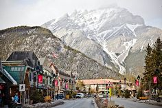 """""""Banff Springs, Alberta - such a beautiful place!"""" Lived & worked here for a summer. really gorgeous, one of the most beautiful."""