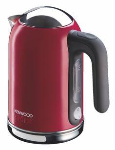 Kenwood SJM 021 Kmix Wasserkocher mit Metallgehäuse 2200 Watt, chili rot, red, red dot design award.