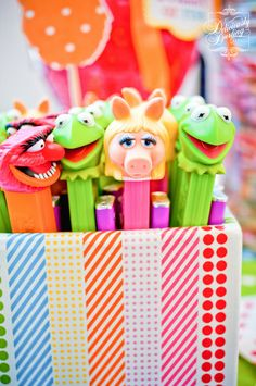 "Photo 12 of 45: Rainbow /Muppets / Birthday ""Muppet Show Birthday"" 