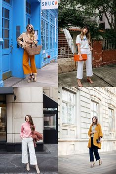 How to Wear Wide Leg Cropped Denim 10 Ways - The Effortless Chic #denim #spring #widelegpants #styleinspiration