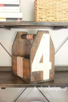 How to build a Wooden Tote Box Part 2 - Rustic & Industrial - The Salvaged Boutique