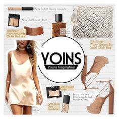 """""""Yoins"""" by angel-from-heaven ❤ liked on Polyvore featuring Aquazzura, NARS Cosmetics, yoins, yoinscollection and loveyoins"""
