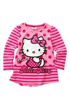 Seje Hello Kitty Bluse Prikket Hello Kitty Toppe til Børn & teenager til hverdag og til fest