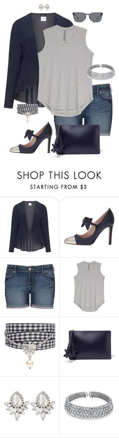 """""""Kinda casual, kinda not- plus size"""" by gchamama on Polyvore featuring Hermann Lange, SJP, Melissa McCarthy Seven7, Miu Miu, Anya Hindmarch, Bling Jewelry, Burberry and plus size clothing"""