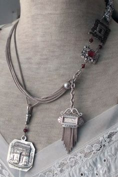 The Arc de Triomphe necklace with detachable pendant is designed to be worn several different ways. The French Circus: Free Styling